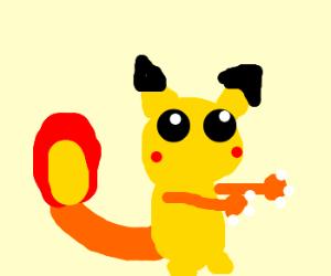 Crossbreed: Pikachu & Charizard