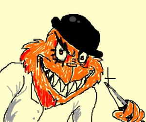 The Grinch is orange!?