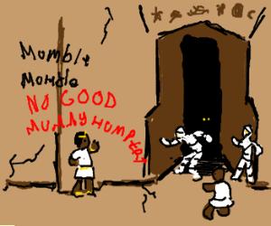 Guy rambling about Mummy Humpers