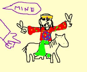 Hippy on my little pony
