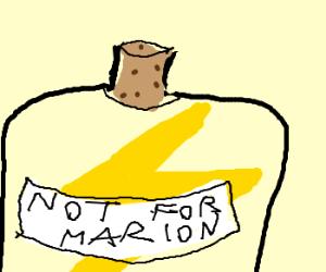 Lightning jar Marion shouldn't see