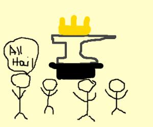 All hail King Anvil