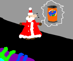 Santa dosen't understand the rules of Charades