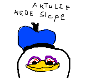 Dolan needs some shut eye.