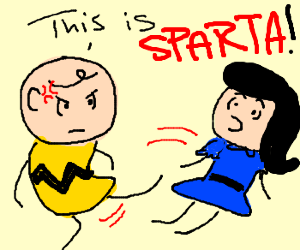 This is Charlie Brown Sparta