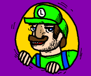 Luigi dressed as Luigi.What's the fun in that?