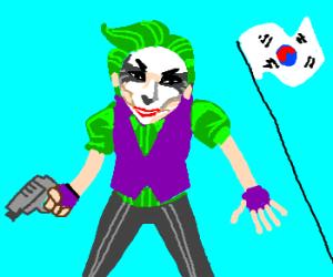 Korean Joker gone mental