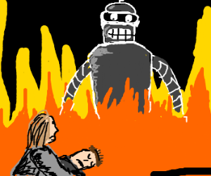 Bender was the Terminator after all!