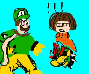 Plot twist: It was Luigi all along...