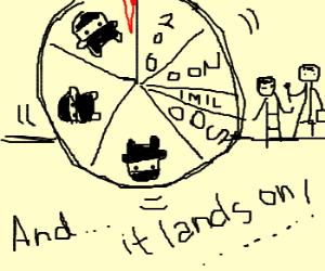 The Wheel of Ninja