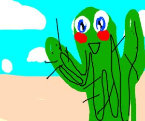 Cute Saguaros