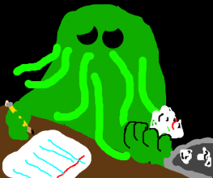 Cthulhu has terrible plans