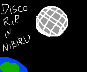 Disco is Dead...and Buried on an Asteroid