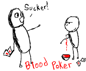 Blood Poker (a casino game)