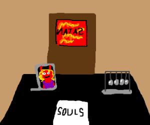 Satan's desk