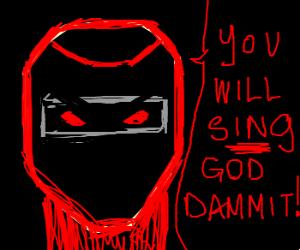 possessed ninja demands that you sing