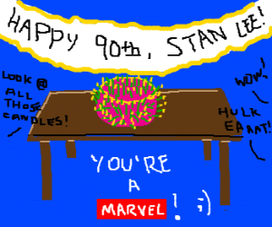 Stan Lee's 90th birthday!