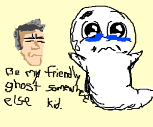 Casper is rejected by Clint Eastwood