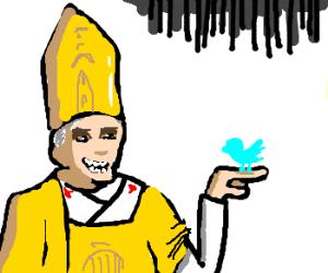 Pope Benedict XVI's twitter
