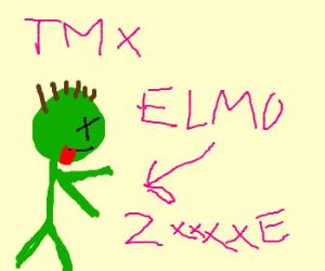TMX Elmo Zombie