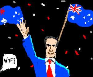 Mitt Romney wins Australian elections