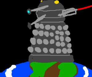 Daleks own earth (and exterminate)