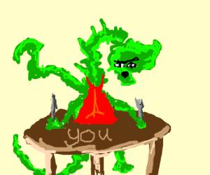 Bizarre alien parasite wants to eat you