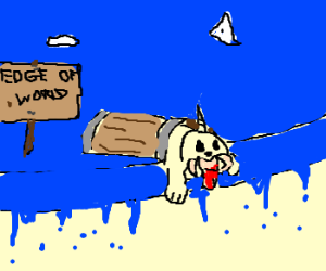 Seel reaches edge of world in a barrel