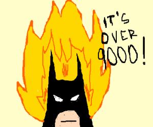 Batman goes super sayan
