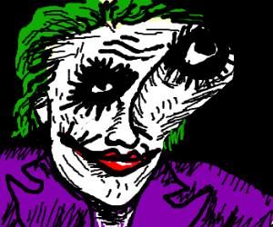 Deformed Joker face