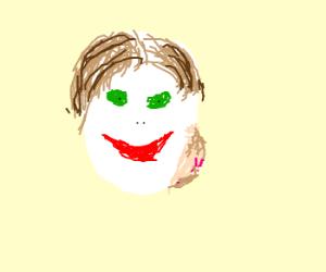 Joker grew a tumor on his face