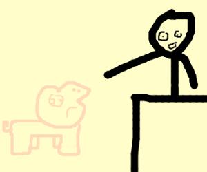 Joel McHale confronts a Bad Piggie®