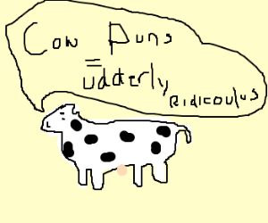 Bad Cow Pun