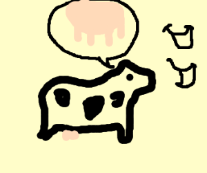 Cow makes pun bout CowPuns. Udderly Ridiculous