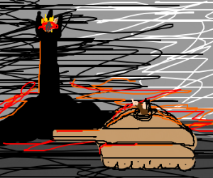 One does not simply roll a tank into Mordor.