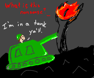 One simply drives a tank into Mordor.