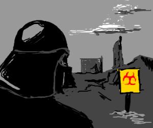 Darth Vader visited Chernobyl