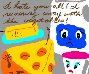 Cheese doesn't wish to be a milk product