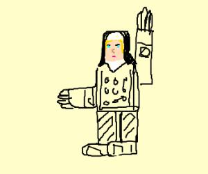 A Nun in Full Habit