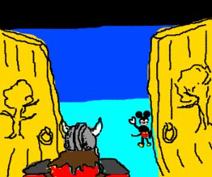 Viking finds mickey in valhalla