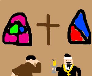 Jean Valjean met Bishop Myriel