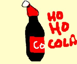 Christmas coke