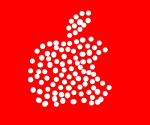 Warhol-style Apple Logos