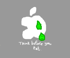 Apple logo is poisoned!!