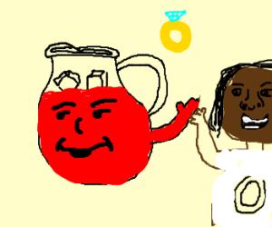 Kool-Aid Man marries Oprah