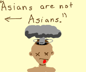 Asians are not Asians.
