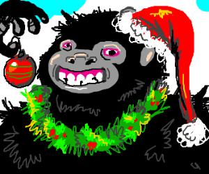 Christmas Gorilla
