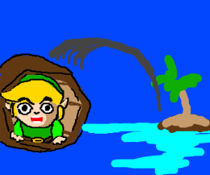 Link is Banished From his Island Home