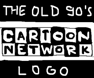the old 90's Cartoon Network logo