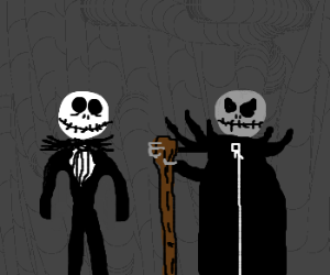 Jack Skellington & his evil twin brother